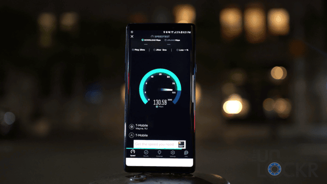 Note9 Speed Test