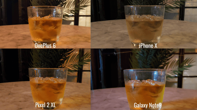 Note9 vs iPhone X vs Pixel 2 Xl vs OnePlus 6