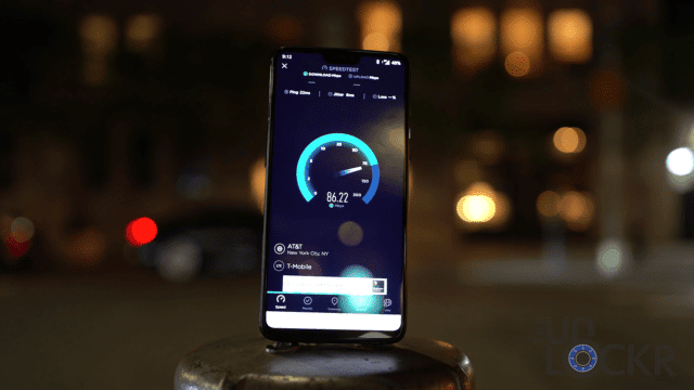 OnePlus 6 SpeedTest