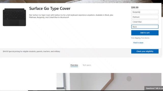 Type Cover Price