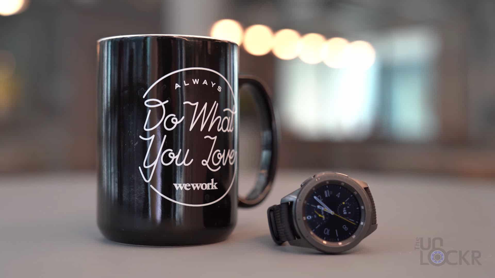 Galaxy Watch with Mug