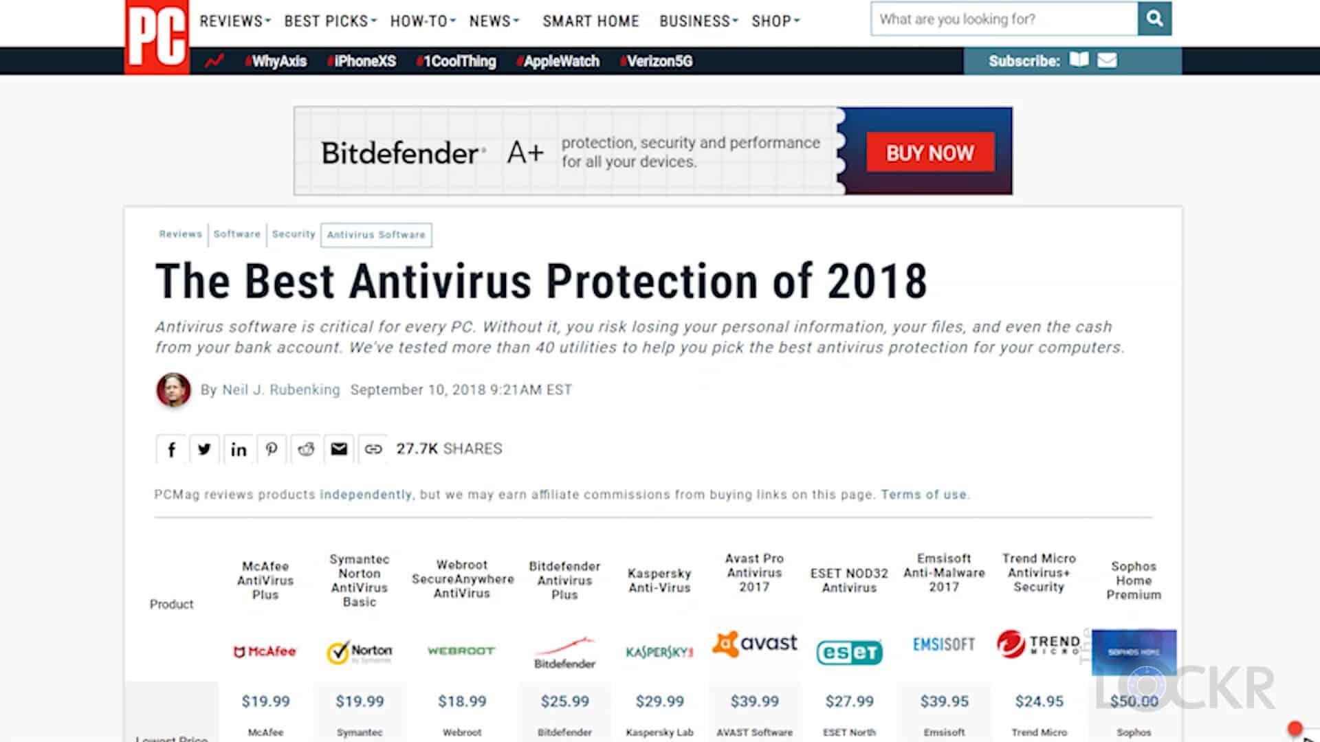 best antivirus with parental control 2018