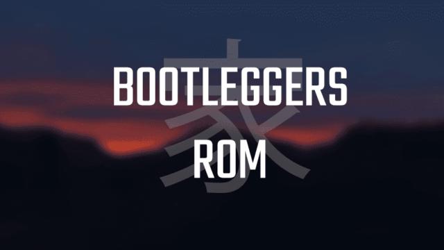 Bootlegers