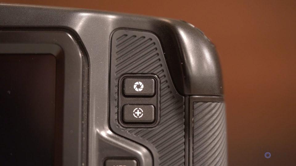 Iris and Focus Buttons