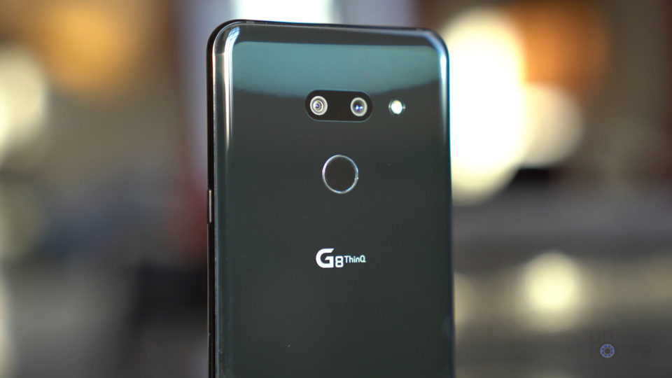 Close Up of Back of the G8