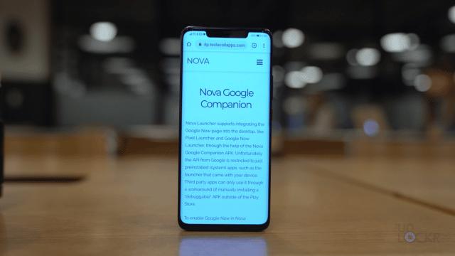 Nova Google Companion