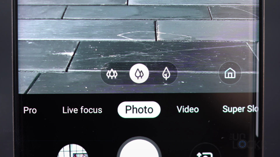 Samsung Three Camera UI