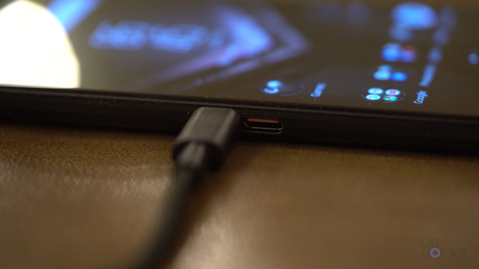Side USB Charging Port