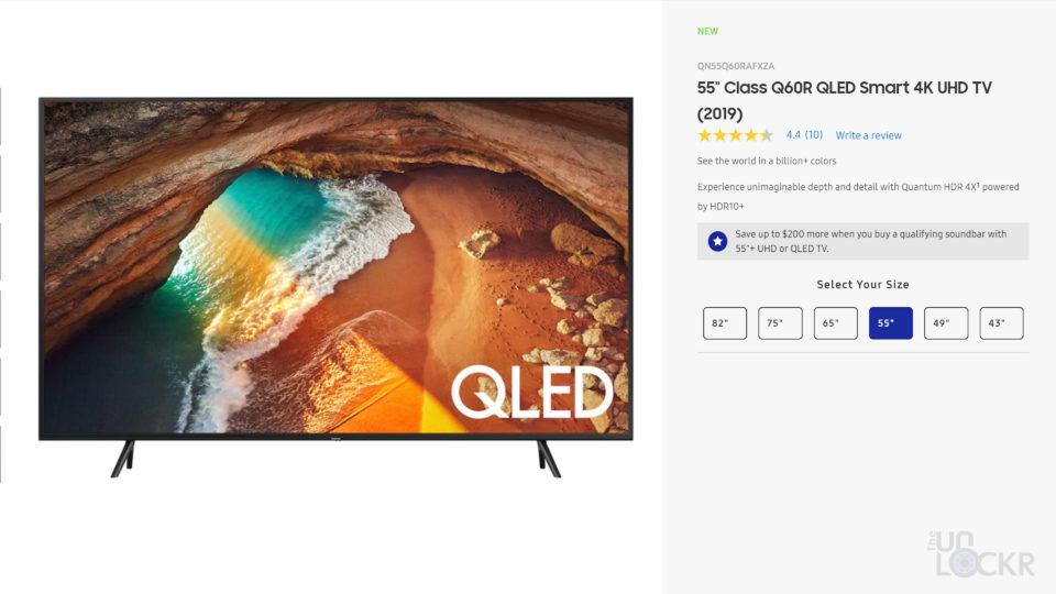 Samsung QLED Price