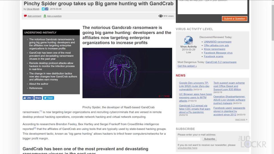 GandCrab News Story 3