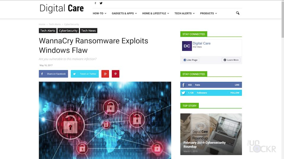 WannaCry Windows Exploit