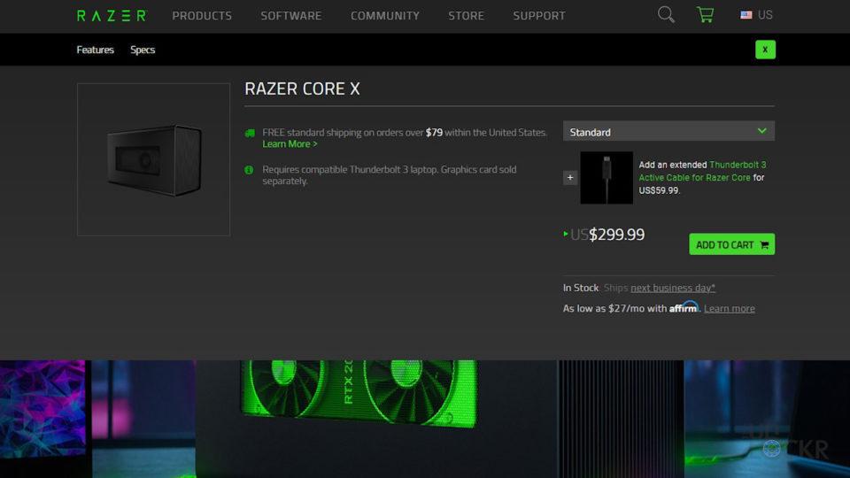 Core X Price