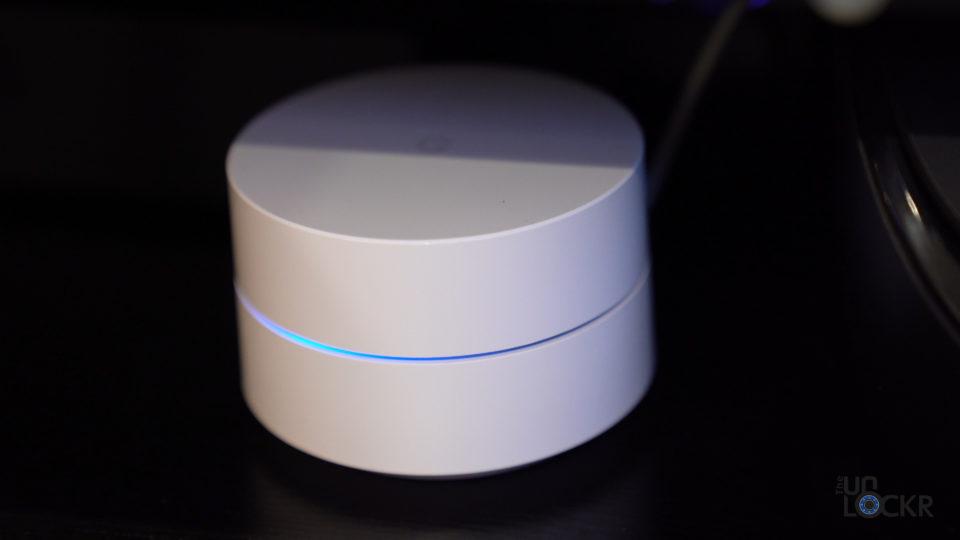 Google Wifi Hub LED