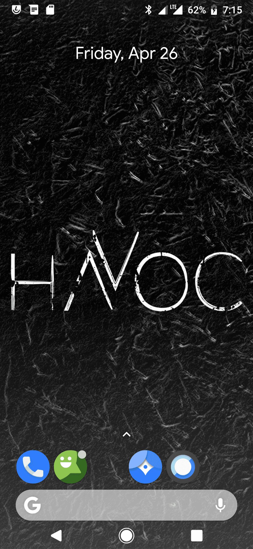 Havoc-OS ROM